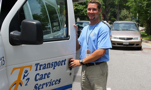 Our employees provide a professional and safe transportation for each one of our clients