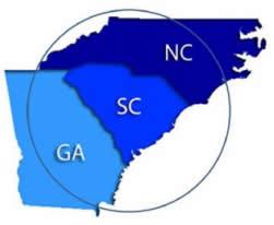 Locations Transport Care Services - Map georgia north carolina